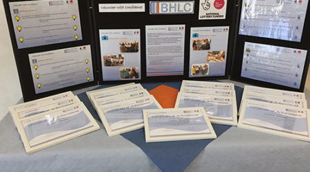 Volunteer with Confidence display