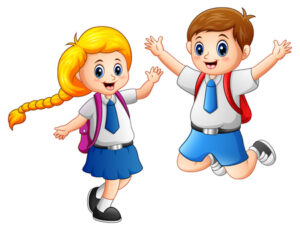 81758316-vector-illustration-of-happy-school-kids-in-a-school-uniform