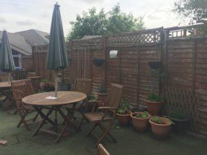 Photo of garden seating